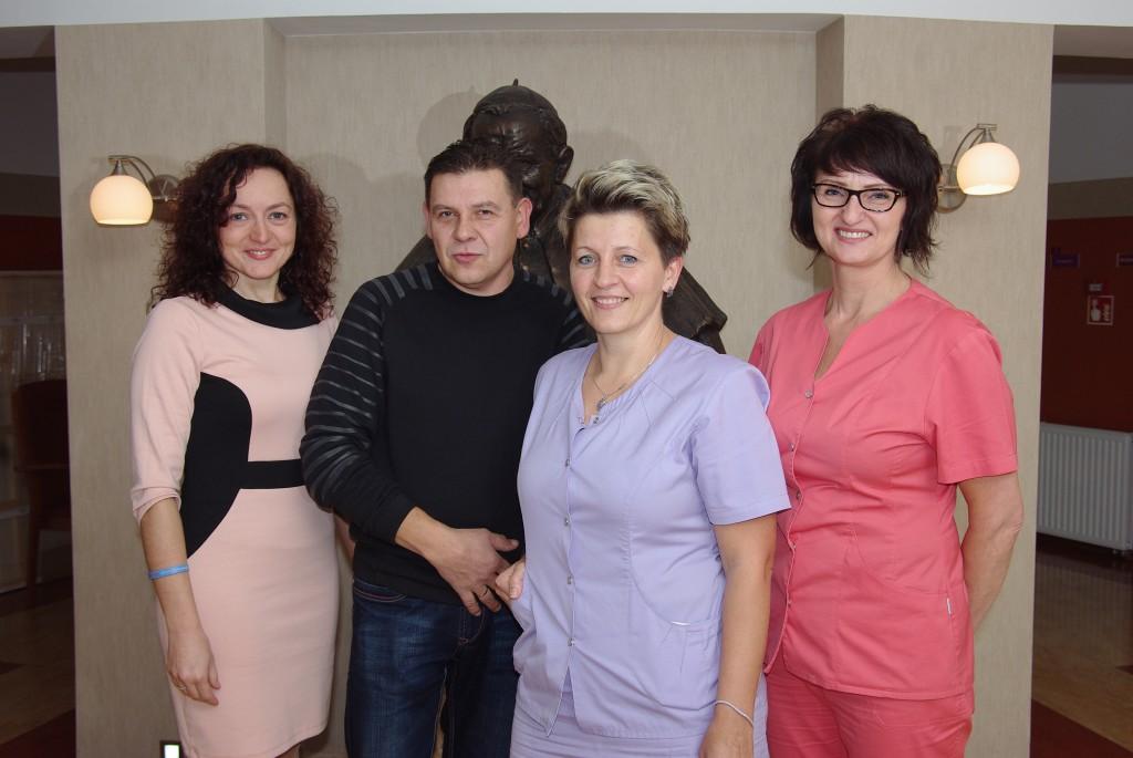ksiegowa, kierownik-prezes, pracownik a dministracyjno-socjalny, konserwator